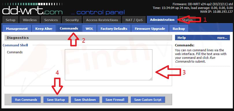 Guide] Setup FinchVPN (OpenVPN) on DD-WRT router - Guide